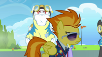 Spitfire 'Lead ponies and wing ponies must fly together' S3E07