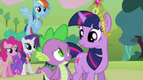 Twilight and friends nervous S03E10