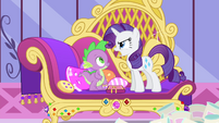 "Rarity ""We must find the puppeteer right away"" S4E23"