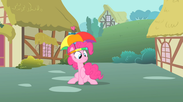 File:Pinkie Pie holding her twitchy tail S1E15.png