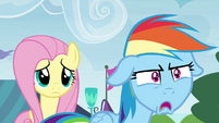 Rainbow Dash in utter shock S4E22