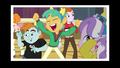 Snips, Snails and Diamond Tiara wearing Wondercolt ears EG3.png