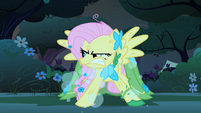 Fluttershy huffing S1E26