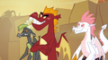 Garble with the other teen dragons S2E21.png