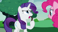 "Rarity ""it is the opposite of okay!"" S7E9"