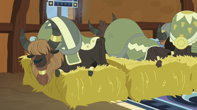 File:Yaks sleeping on beds of hay S7E11.png