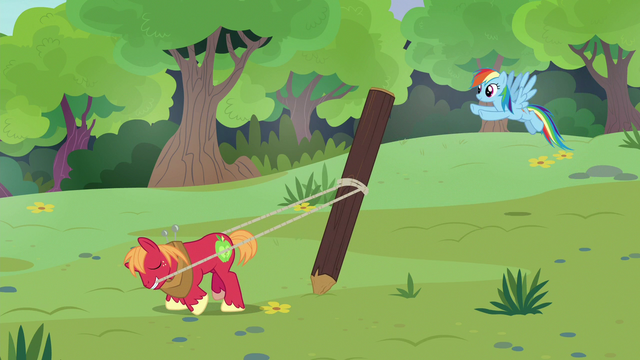 File:Big McIntosh raising a wooden stake S7E5.png