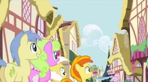 European Portuguese My Little Pony Pinkie The Party Planner Song HD