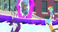 "Rainbow Dash ""Hang on!"" EG3"