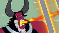 Tirek sucking away all the magic of Twilight's friends S4E26