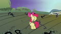 Apple Bloom pulling at black vine S4E01.png