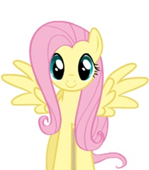 File:FANMADE Fluttershy standing vector.jpg