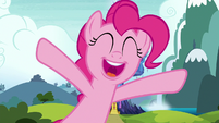 "Pinkie Pie excited ""ta-da!"" S7E4"