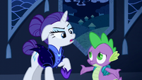 "Rarity ""I don't socialize"" S5E26"