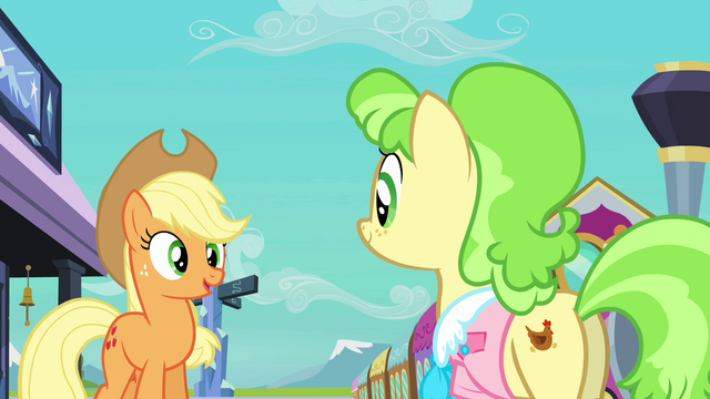 File:Applejack and Ms. Peachbottom S03E12.png