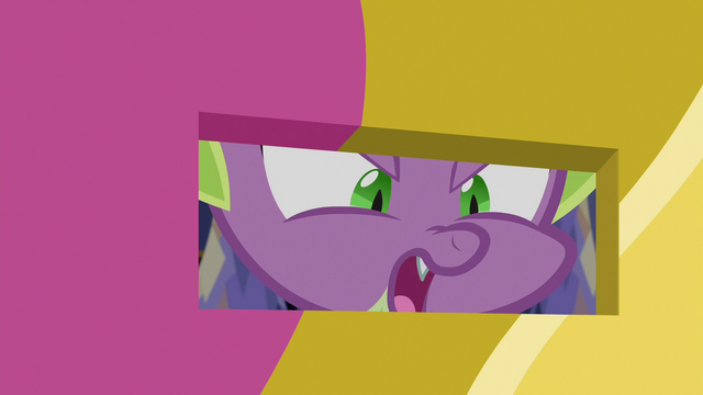 "File:Spike Changeling ""she's a princess, after all!"" S6E25.png"