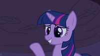 Twilight with hoof up S2E21