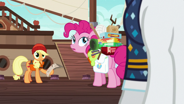 File:Applejack and Pinkie look back at Rarity S6E22.png