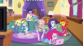 Slumber party at Pinkie's EG2.png