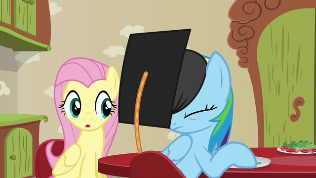 File:Zephyr's cap lands on Rainbow's head S6E11.png