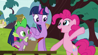 "Pinkie Pie ""we galloped away"" S5E22"