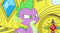 Spike stands up to Rarity S4E23