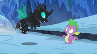"Thorax ""the ice is pretty slippery"" S6E16"
