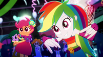 Rainbow Dash dancing to hip-hop SS3