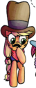 Comic issue 22 Applejack Manehattan disguise
