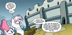 Friends Forever issue 24 Griffonstone's boffyball stadium