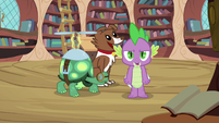 Spike 'And what I say, goes!' S3E11