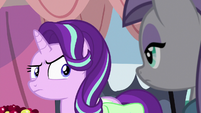 Starlight looks skeptically at Maud Pie S7E4