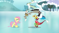 "Discord and Fluttershy ""what's wrong, pal?"" S03E10"
