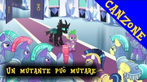 ITALIAN My Little Pony Canzone Un mutante mutare potrà Lyrics CC HD
