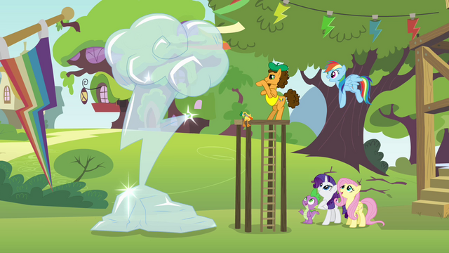 File:Rainbow Dash cutie mark ice sculpture S4E12.png