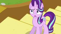 Starlight Glimmer shocked by Spike's behavior S6E25