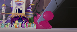 Storm King's airship lands on balloon animal MLPTM