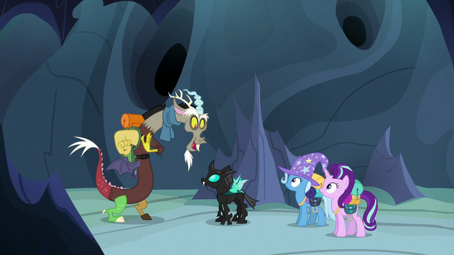 """File:Discord Changeling """"I heard some of the changelings"""" S6E26.png"""