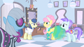 Fluttershy about to sneeze S1E20.png