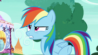 "Rainbow Dash Changeling scornful ""hello, ponies"" S6E25"