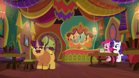 "Coriander ""I have nopony to host for"" S6E12"
