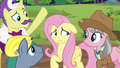 Expert ponies asking for Fluttershy's opinion S7E5.png