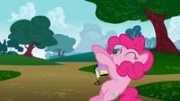 Pinkie Pie falling back S1E5
