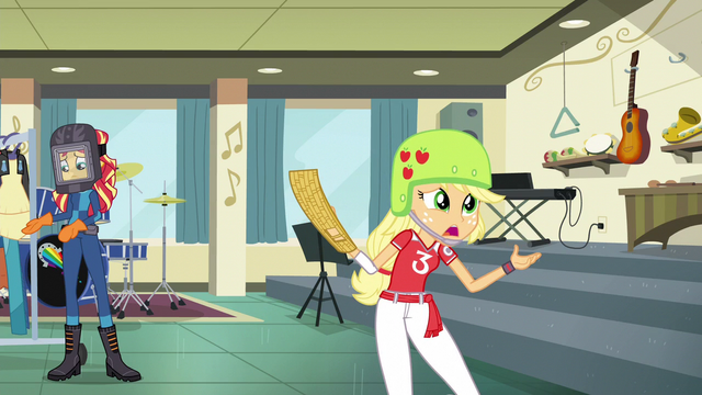 """File:Applejack """"you're gonna exhaust yourself"""" EG3.png"""