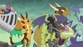 Dragons in armor listen to Torch S6E5.png