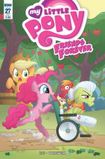 Friends Forever issue 27 sub cover