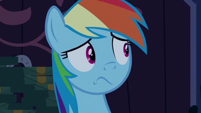 File:Rainbow Dash still in shock S6E15.png