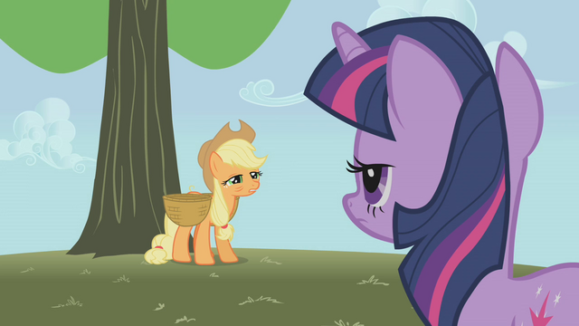 File:Applejack about to collapse S1E04.png