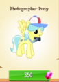 Photographer Pony MLP Gameloft.png