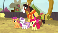 Cutie Mark Crusaders stand up for Trouble Shoes S5E6